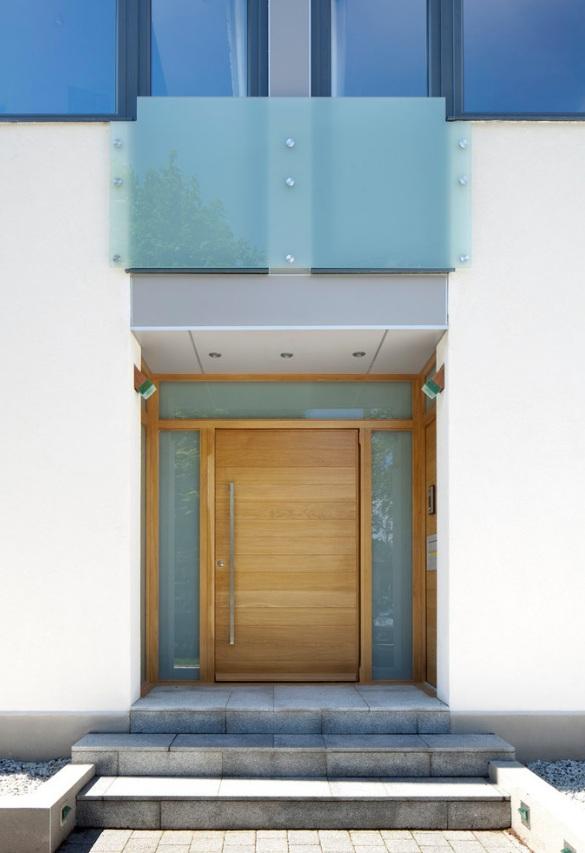 Miami Style Modern Front Door