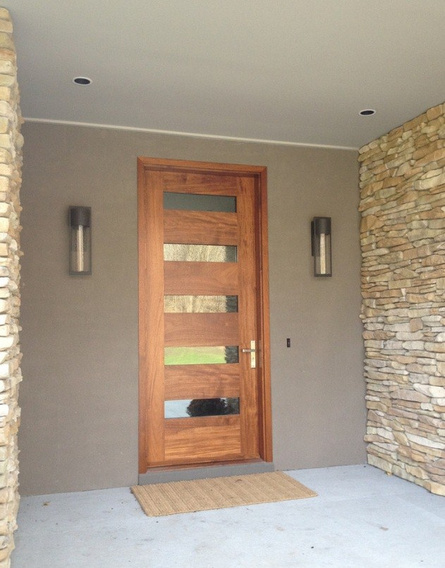 Perfect 5 Pane Front Door