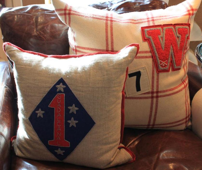 Pillows with Big Patches