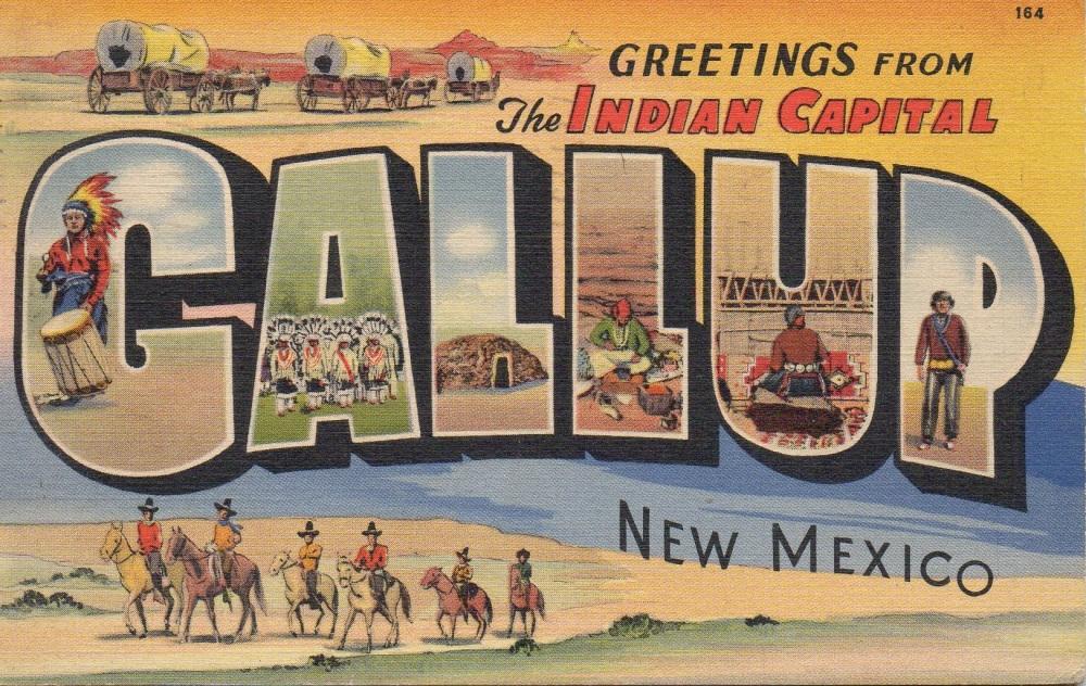 1 Gallup Vintage Postcard