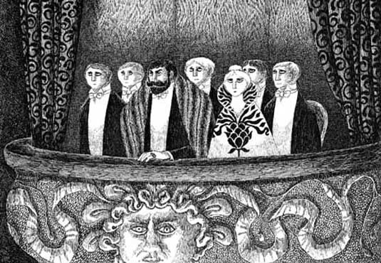 Edward Gorey At the Opera