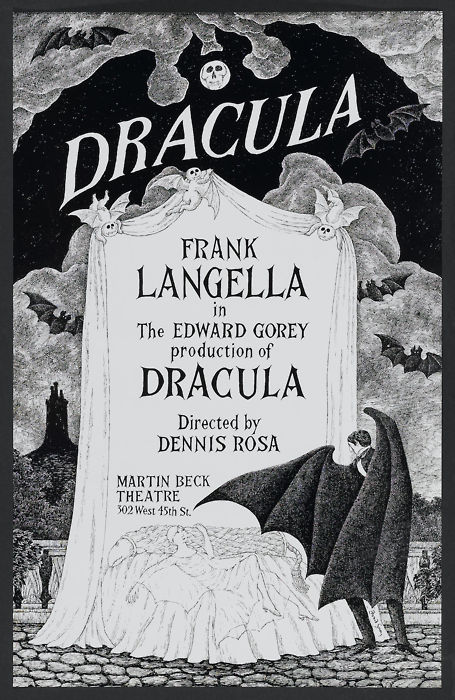 Edward Gorey Dracula Art