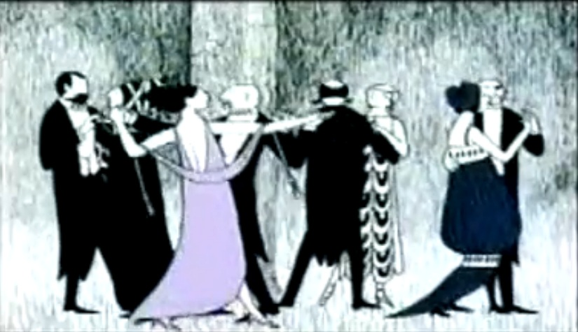 Edward Gorey PBS Mystery! Opeing 2