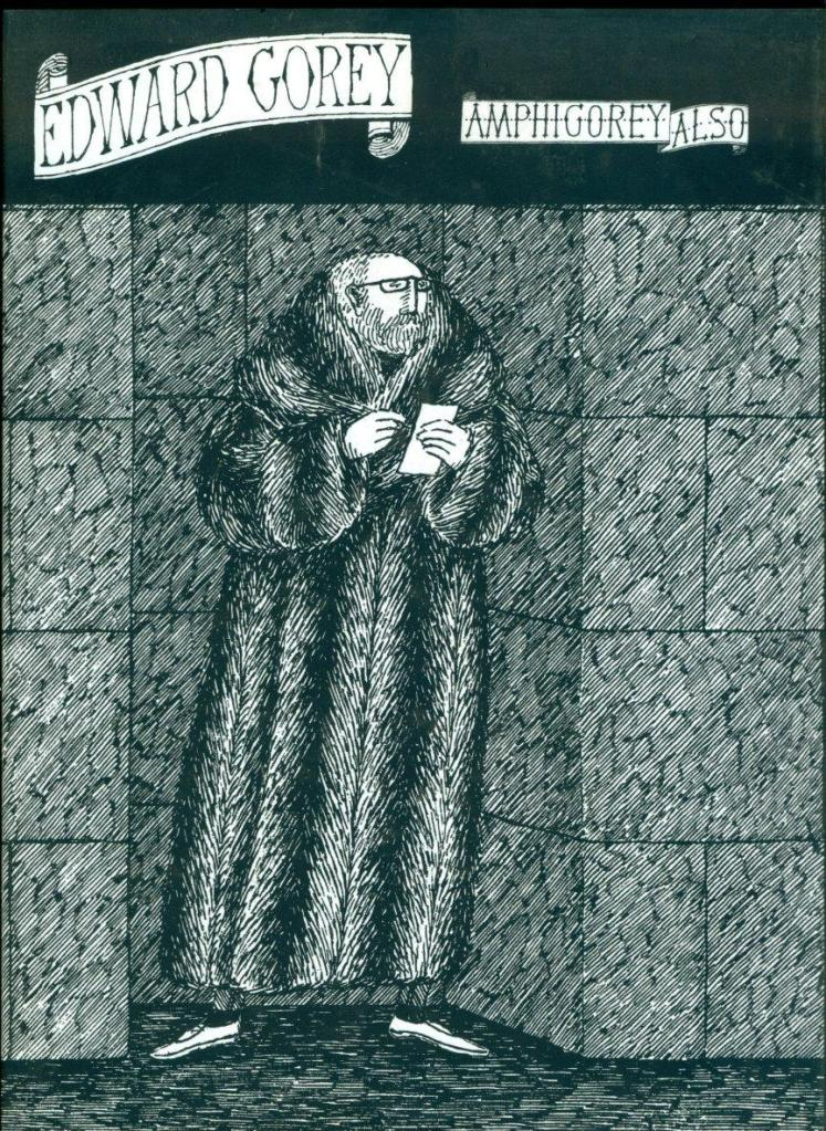 Edward Gorey Self Portrait