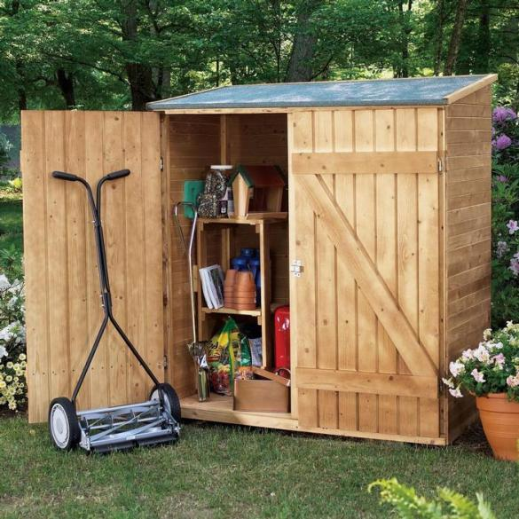 plans for outdoor storage shed