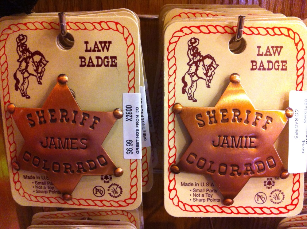 Sheriffs Badges