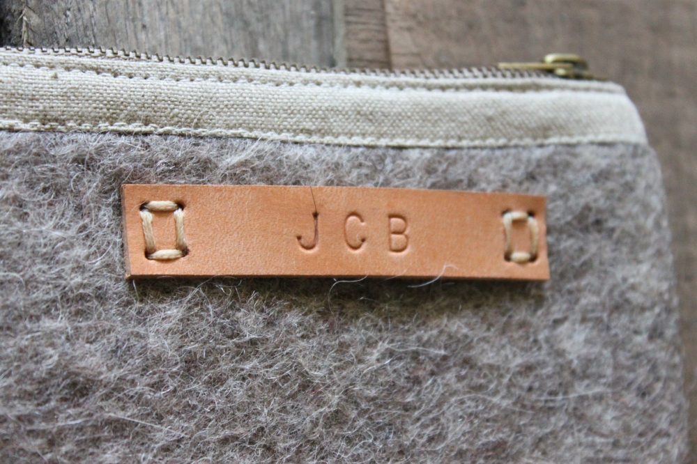 Close Up on the Monogramed Tag