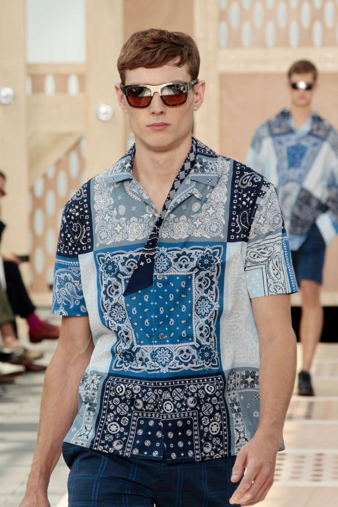 Closer Look at Look 17 Louis Vuitton Spring '14