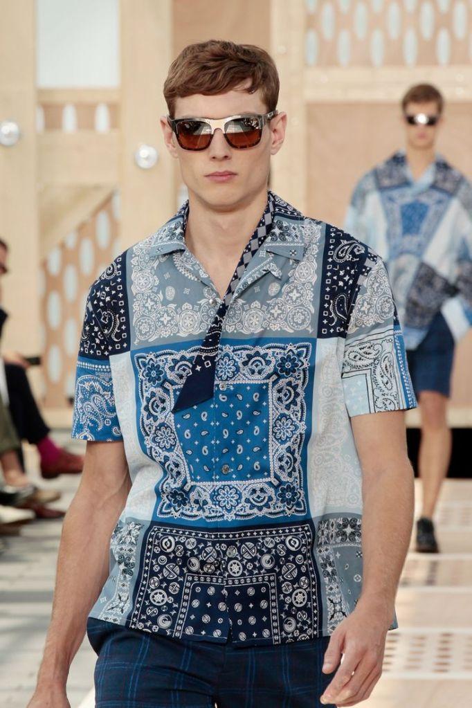 Closer Look at Look 17 Louis Vuitton Spring '14