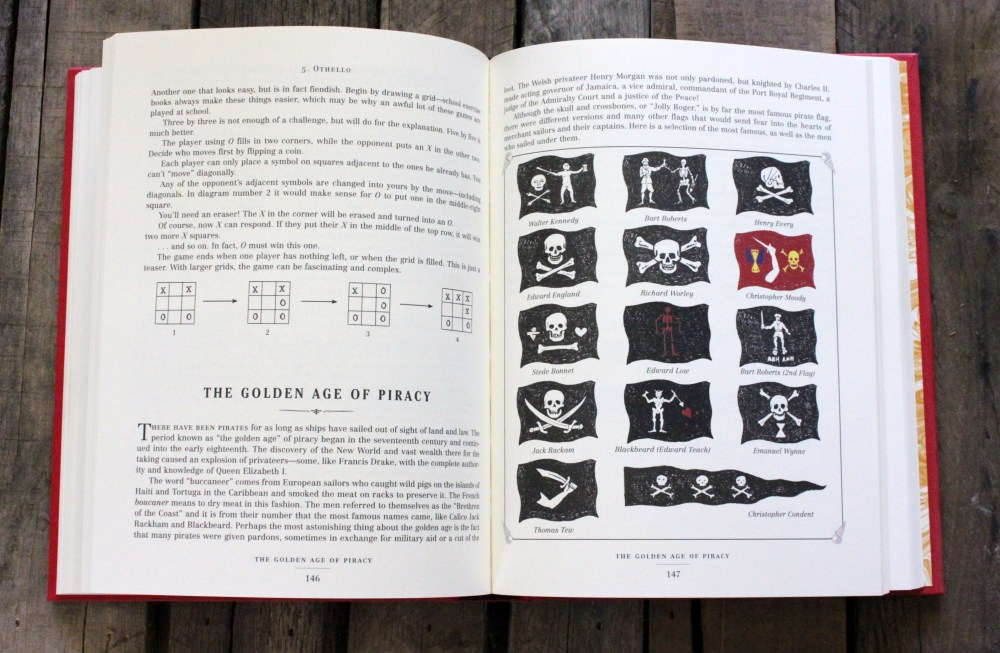 Pirate Flags in the Dangerous Book for Boys