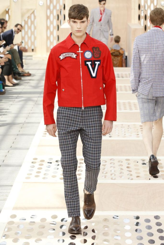 Louis Vuitton Spring '14 Look 8