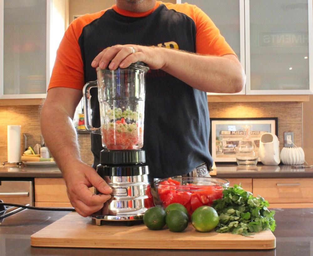 Make your Salsa in the Blender