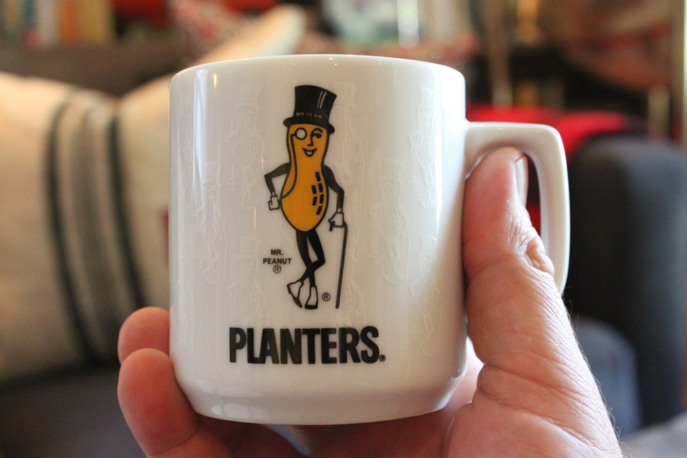 Mr Peanut Mug