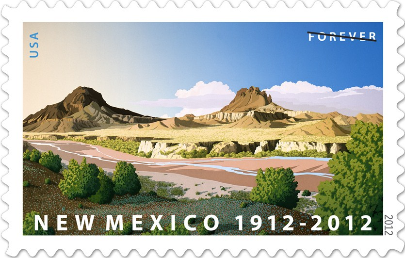 New Mexico Forever Stamp