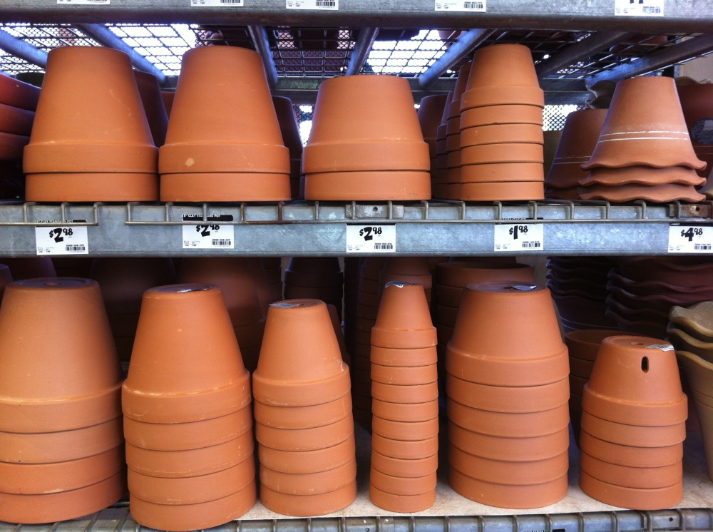 Terra Cotta Flower Pots