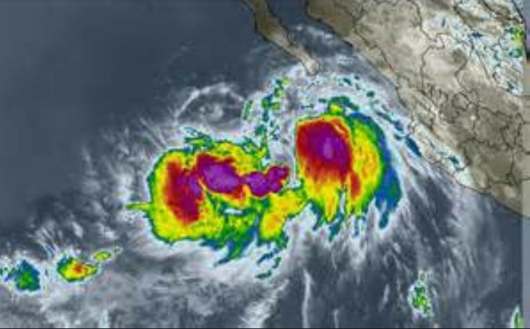 Tropical Storm Julliette on the Radar