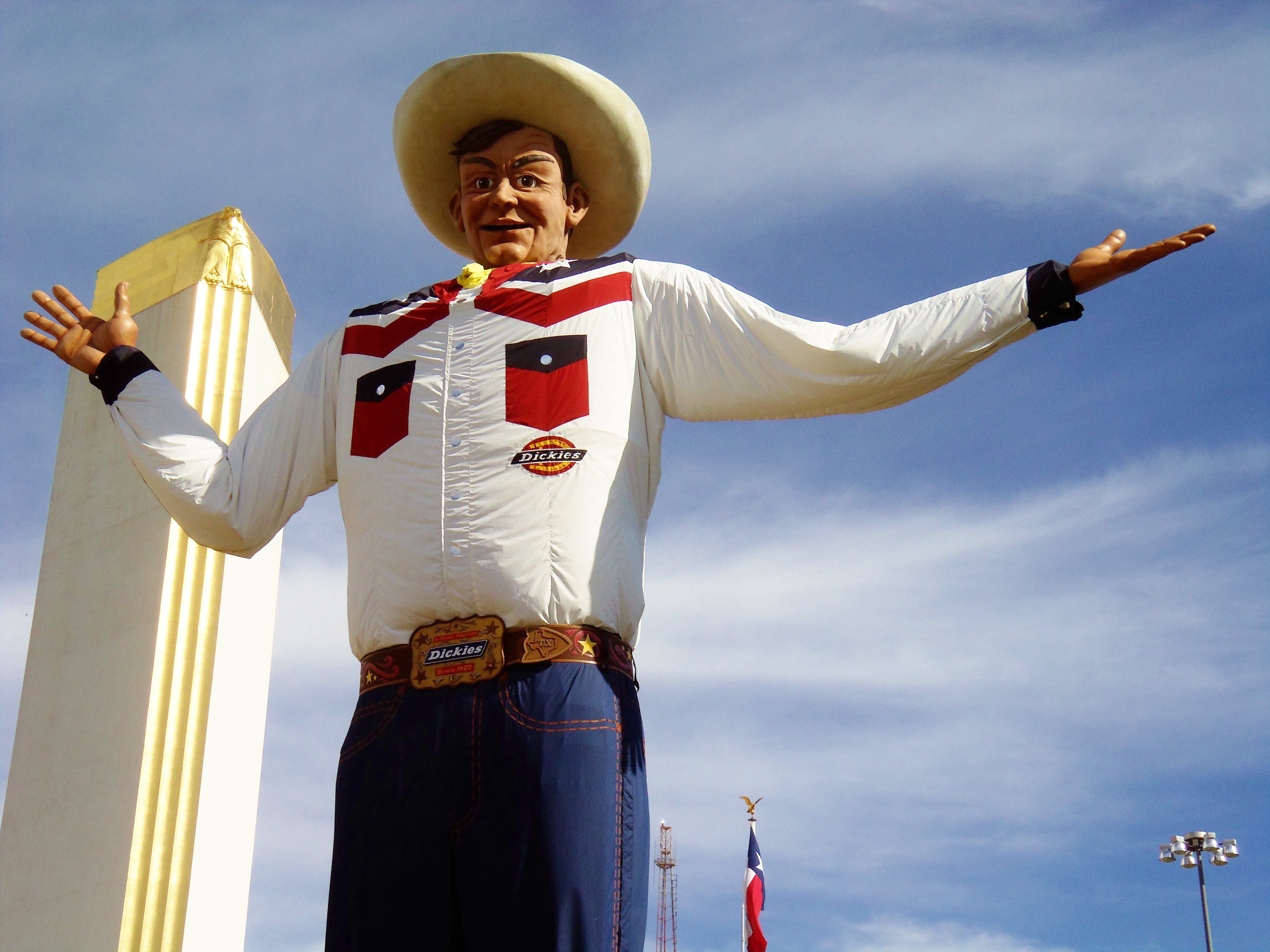 Big tex the cavender diary big tex is back at the state fair of texas 2013 publicscrutiny Image collections