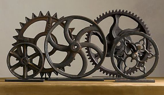 Collection of Restoration Hardware Gears