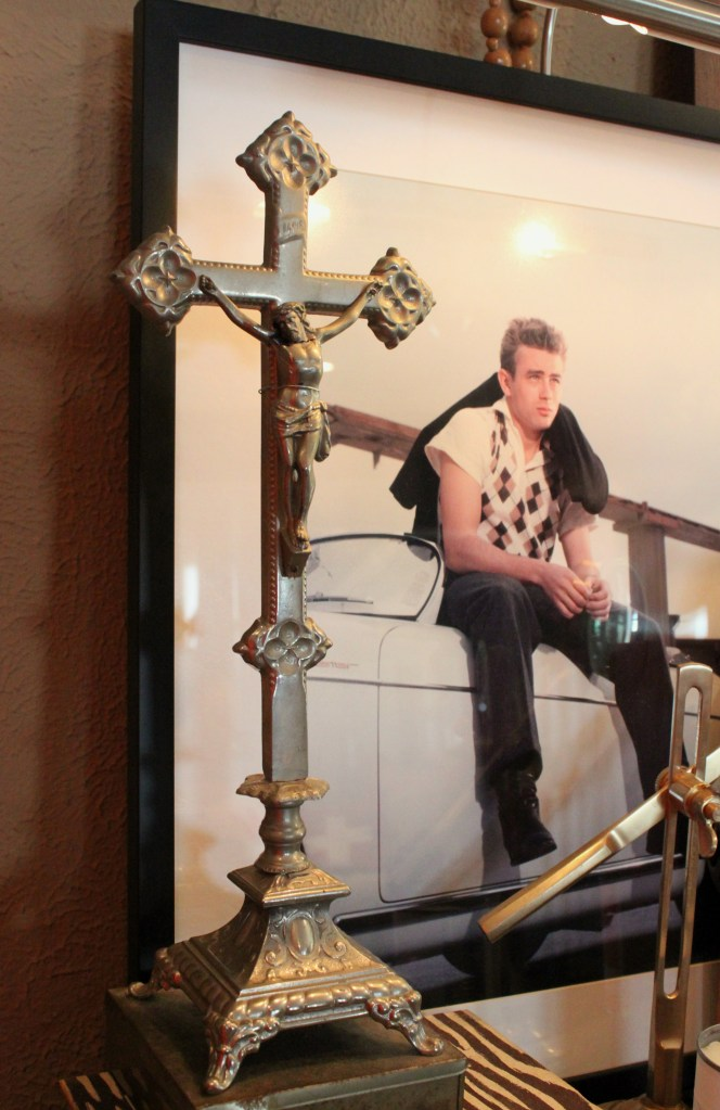 Crucifix with James Dean