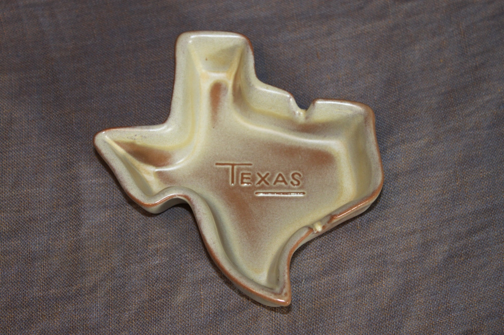 Frankoma Texas Ashtray