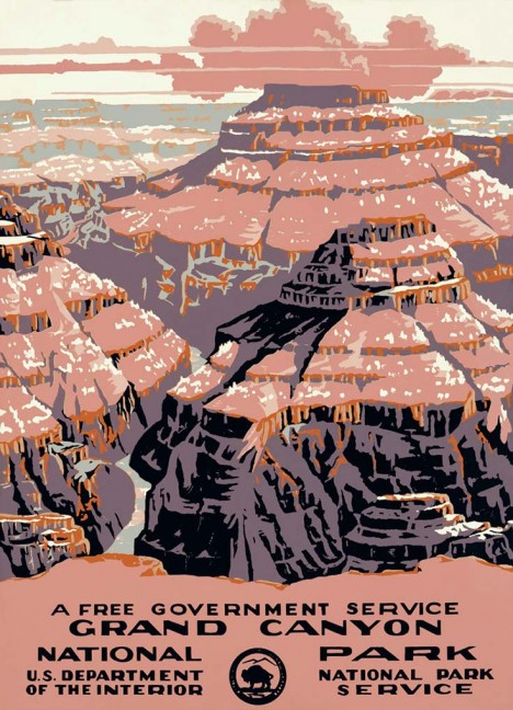 Grand Canyon National Park Poster 3