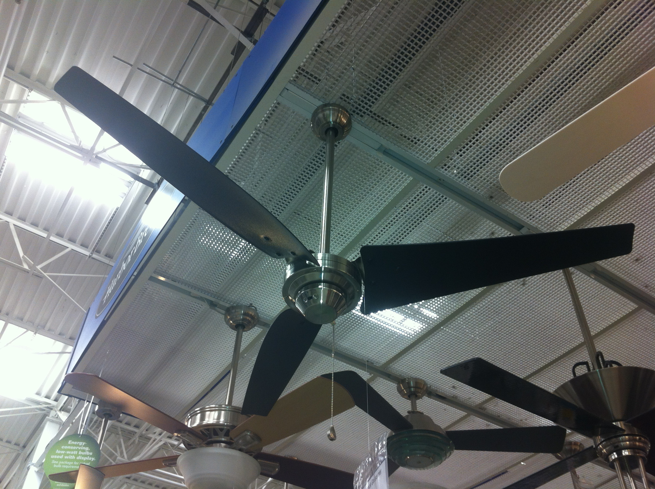 Industrial Ceiling Fan | THE CAVENDER DIARY