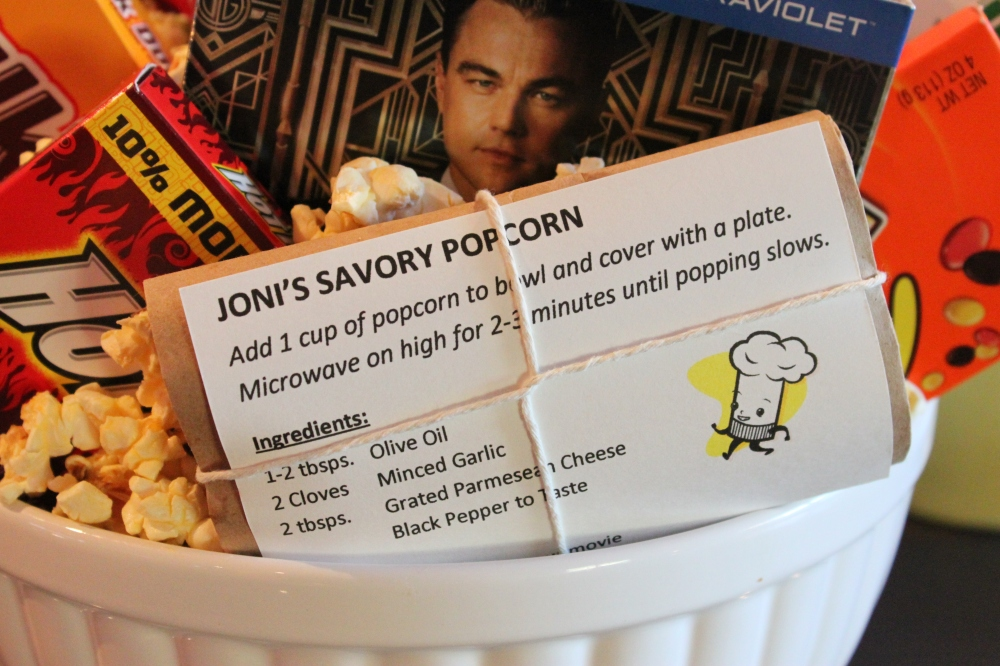 Joni's Savory Popcorn in the Movie Night in a Bowl