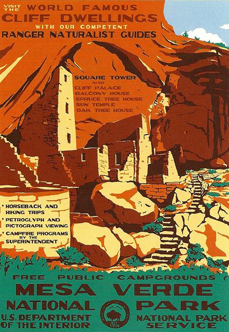Mesa Verde Nation Park Poster