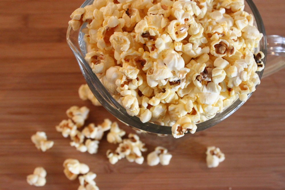Use Poped Popcorn as Filler