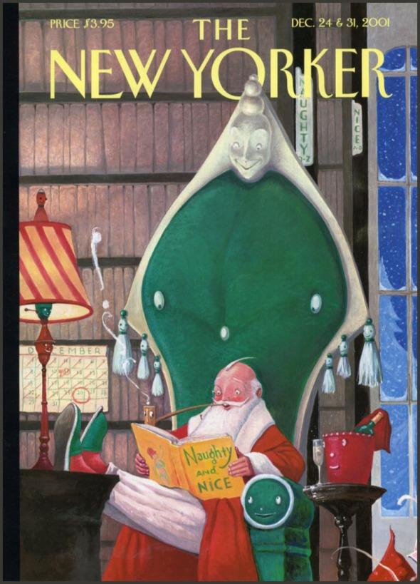 William Joyce NewYorker12-24-2001