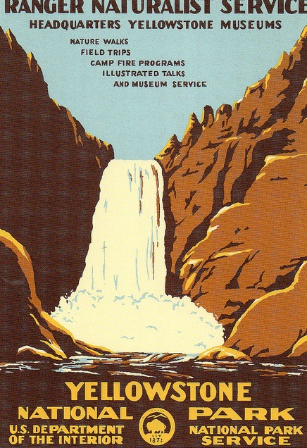Yellowstone National Park Poster 2