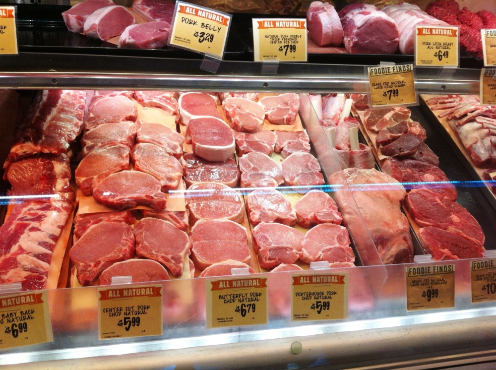 Central Market Meat Counter