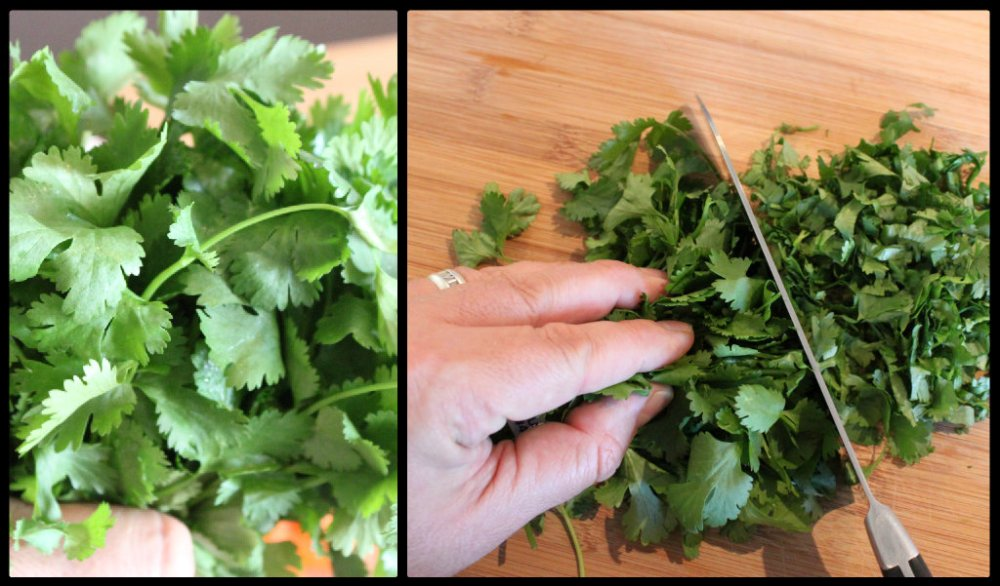 Chopping Cilantro for Pea Soup Collage.jpg
