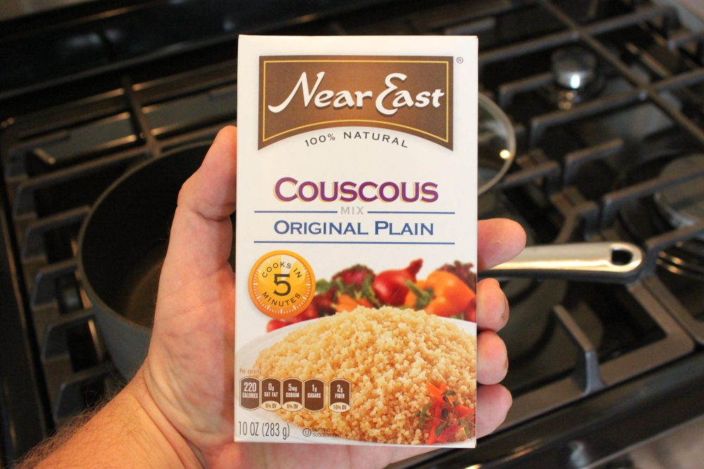 Couscous with no Seasonings
