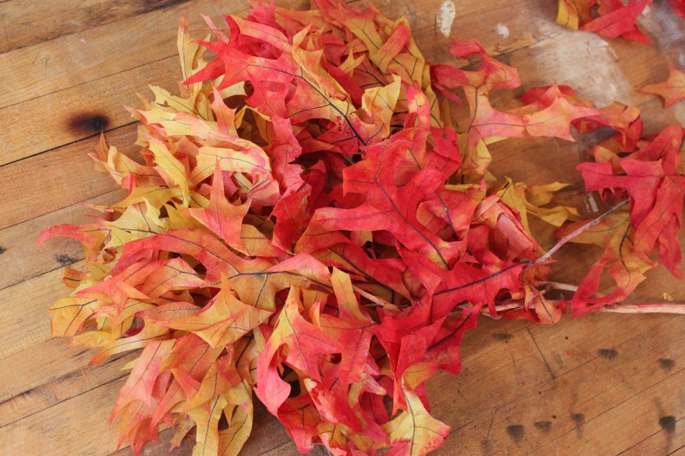 Preserved Natural Leaves from the Craft Store