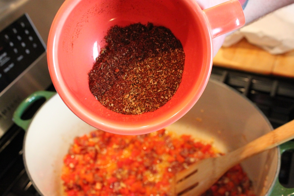 Premeasured and Mixed Spices in a Cup