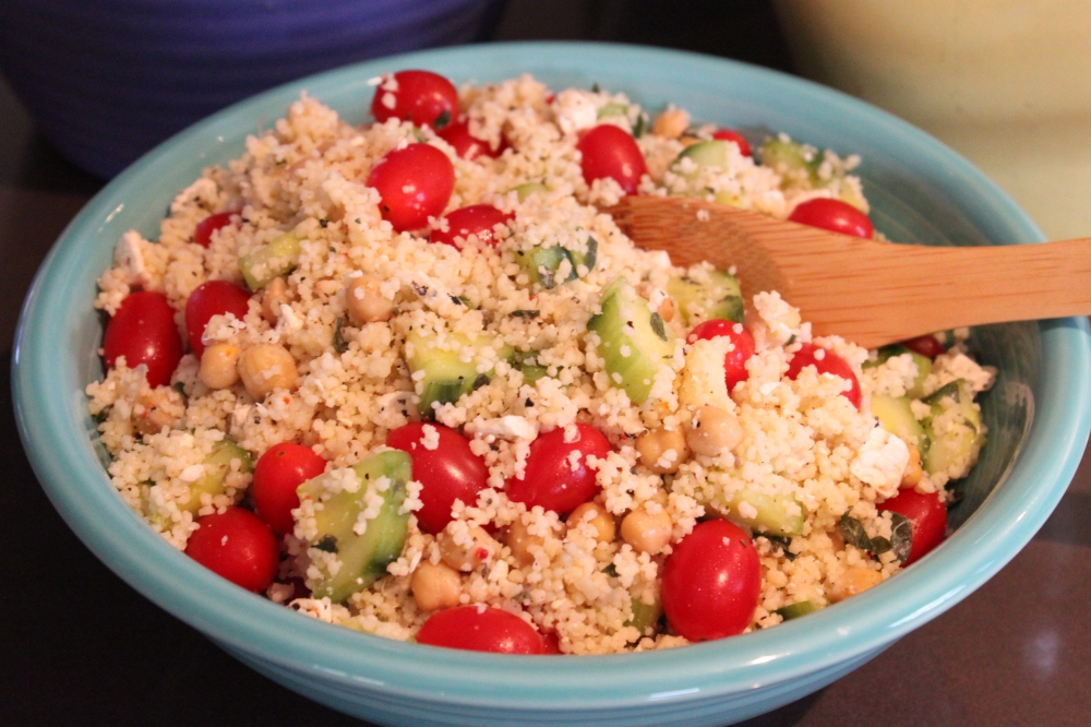 Quick and Easy Mediterranean Couscous Salad