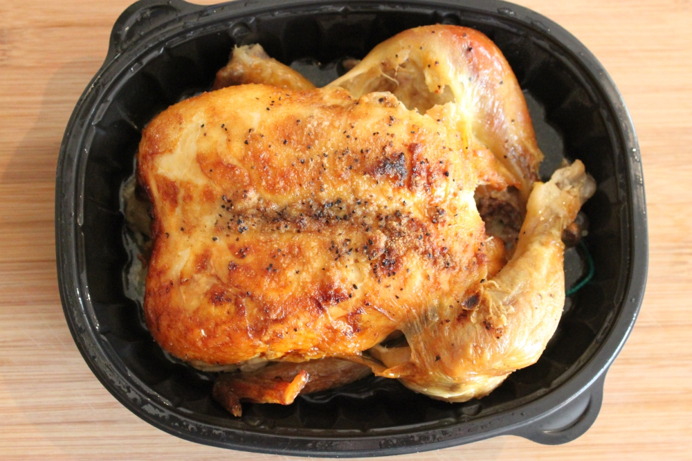 Whole Roasted Chicken from the Grocery Store