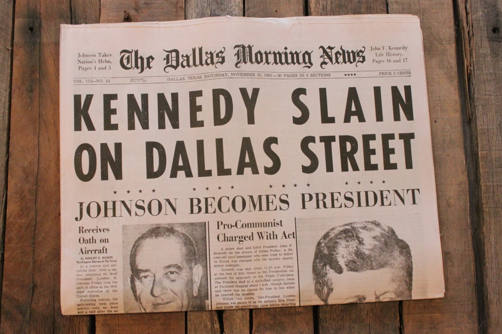 Dallas Morning News November 23 1963