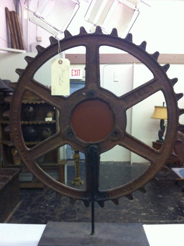 Huge Gear at White Elephant Antiques