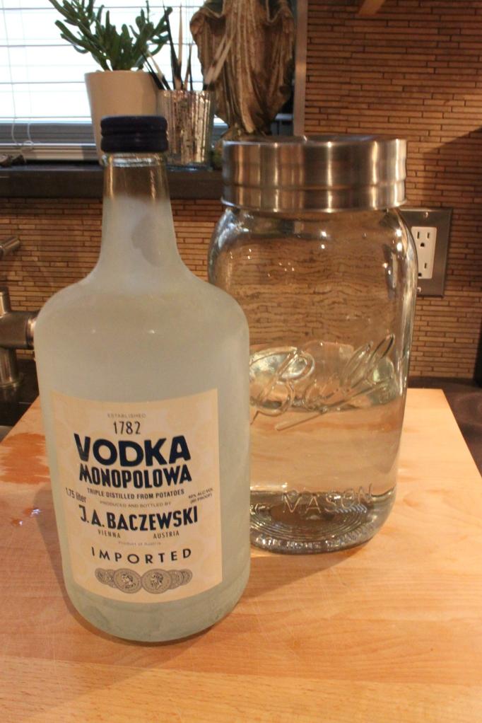 Use Decent Vodka to Make Falavored Vodka