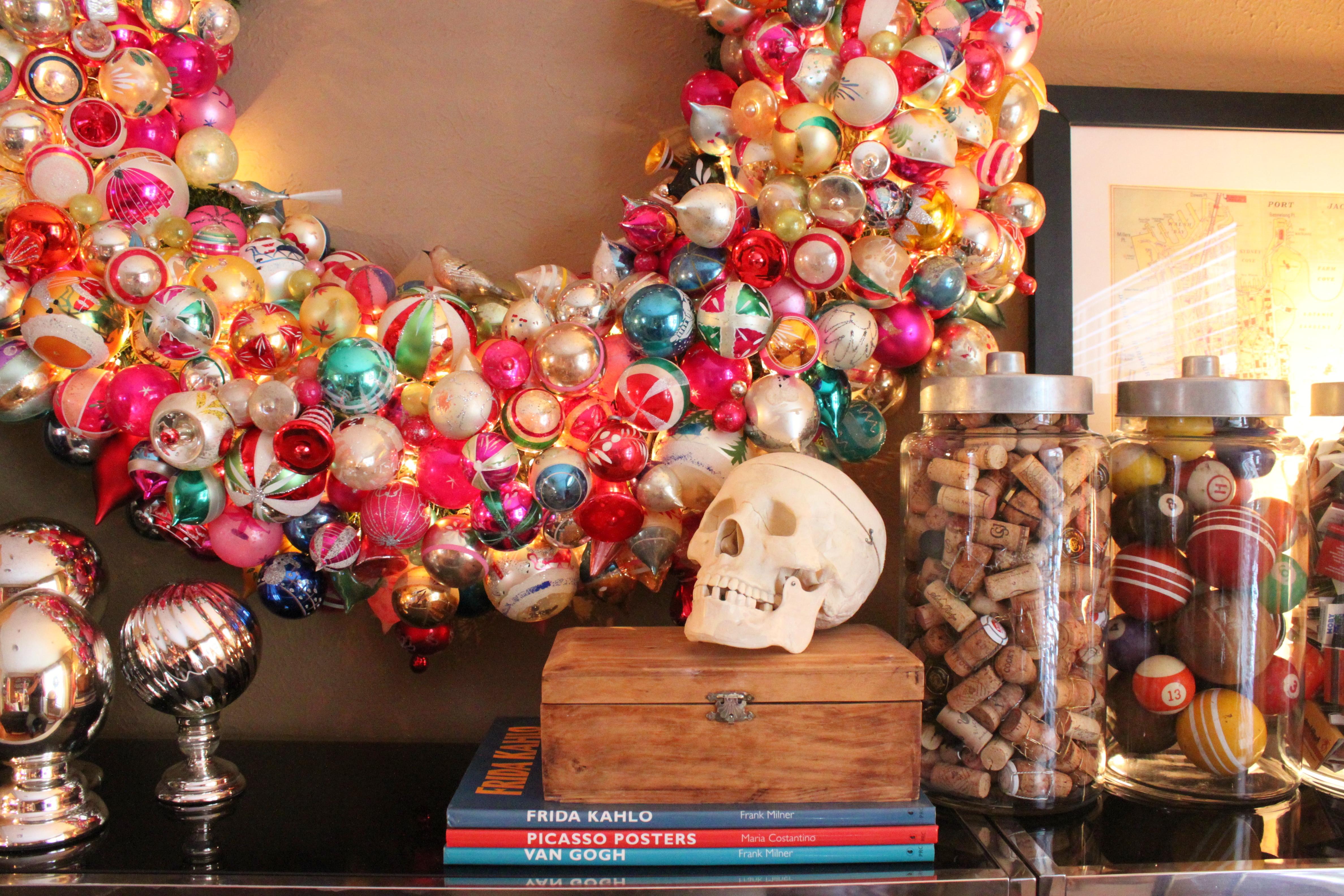 christmas wreath the cavender diary