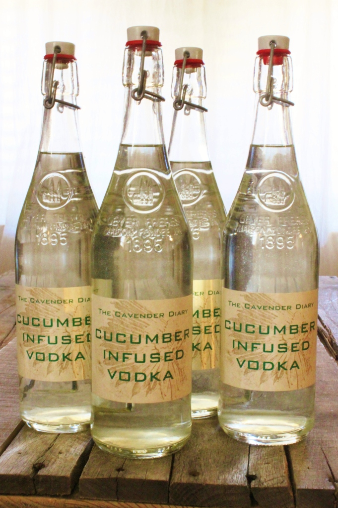Cucumber Infused Vodka