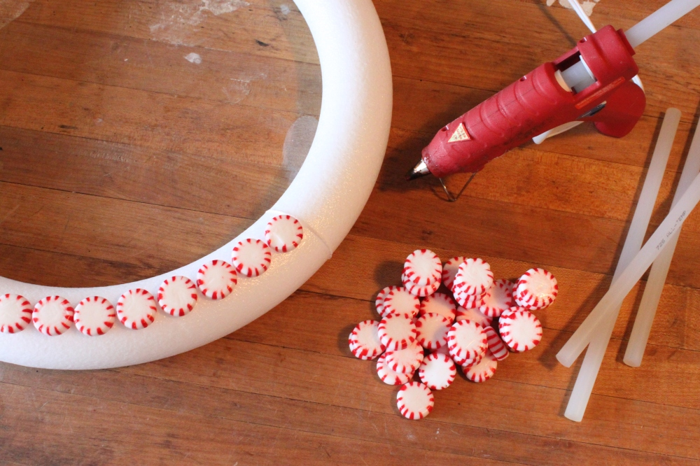 Glue Your Mints on with a Hot Glue Gun