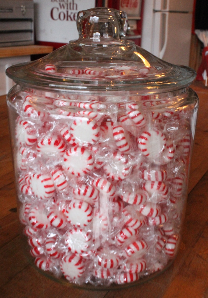 Jar Full of Starlight Peppermint Candies