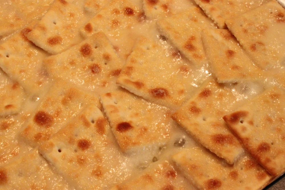 Nice and Toasted Saltines