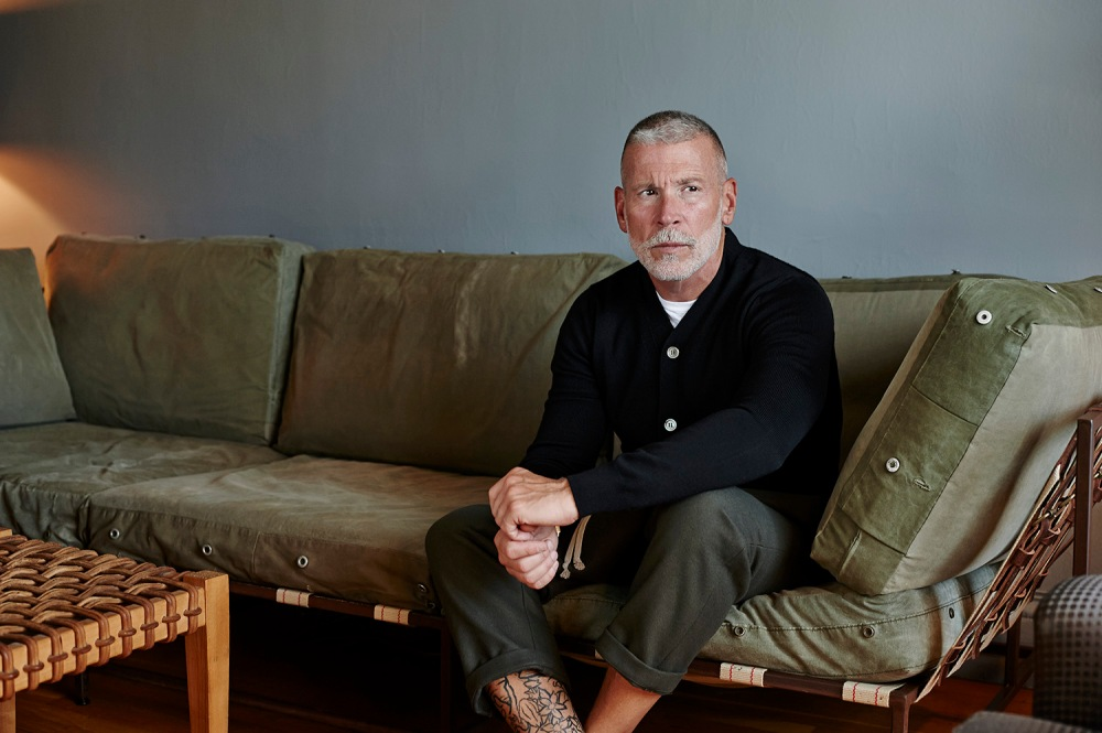 Nick Wooster at Home