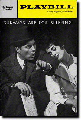 Playbill for Subways are for Sleeping