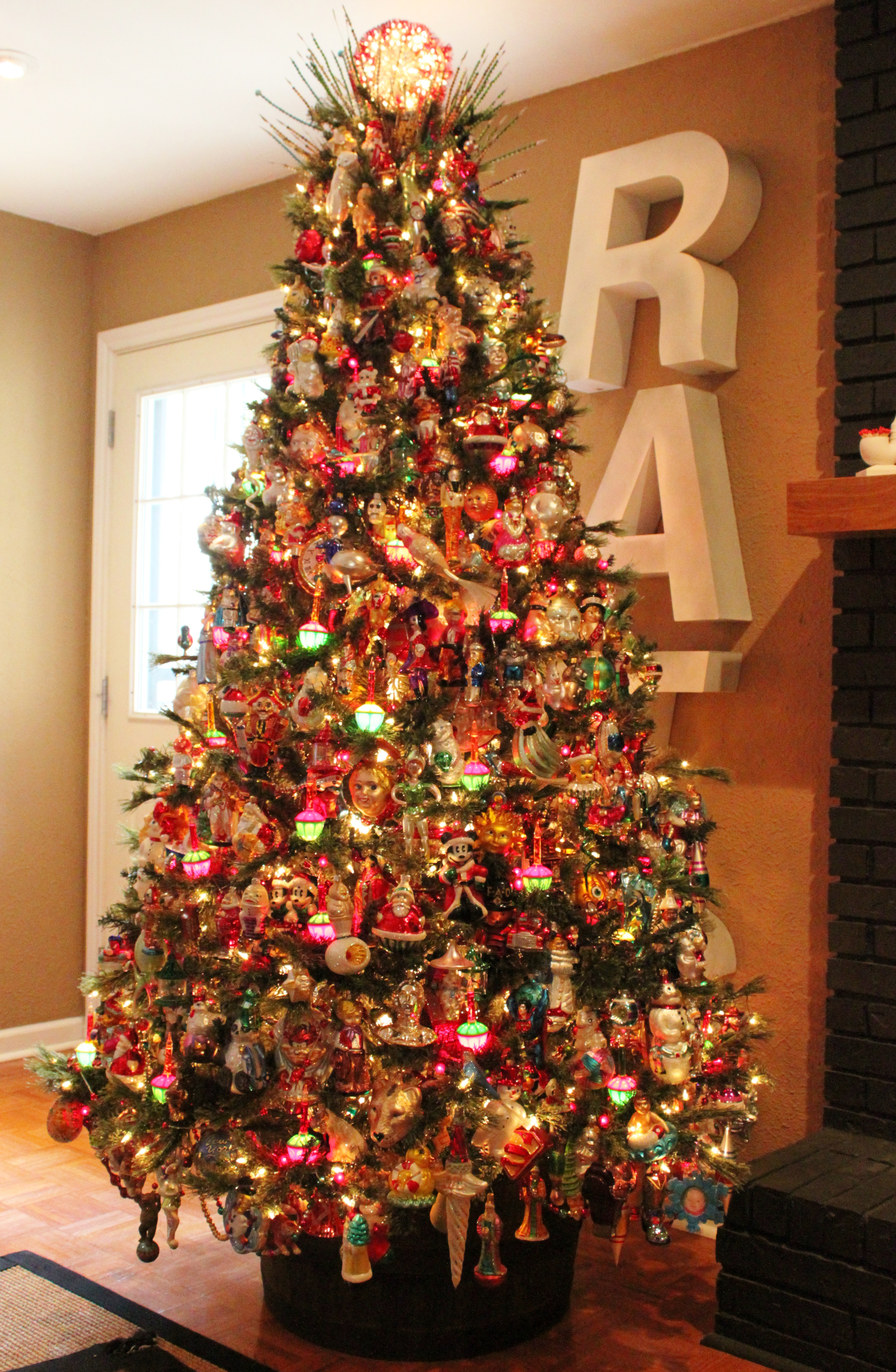 Christopher radko ornaments the cavender diary - Christmas tree with decorations ...
