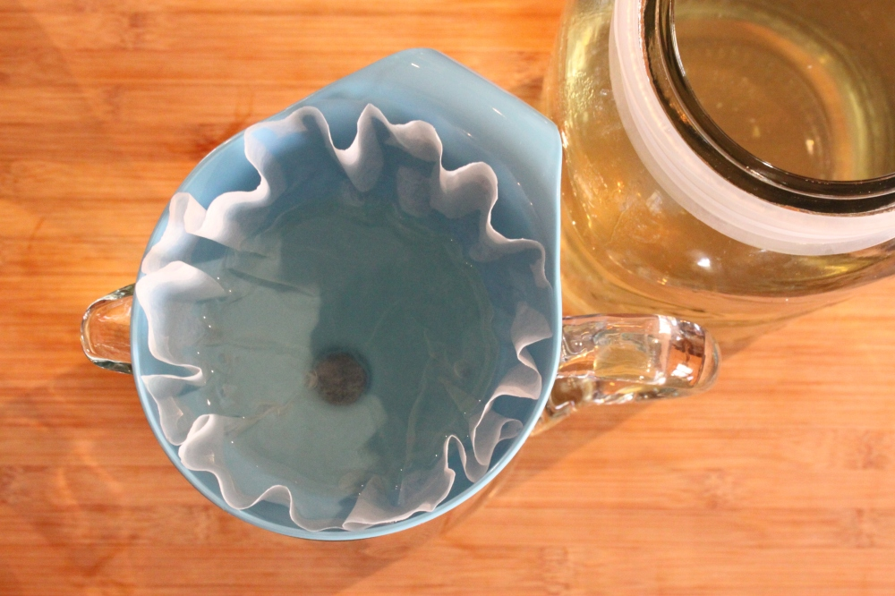 Strain Your Vodka through a Coffee Filter